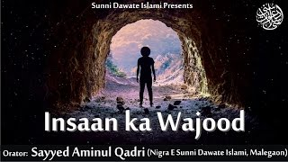 Insaan Ka Wajood by Sayyed Aminul Qadri