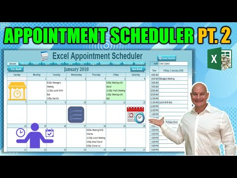How to Send Multiple Staff Appointments From Excel To Google and Outlook Calendars: [Part 2]