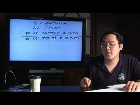 Math in Daily Life : How to Calculate Test Scores