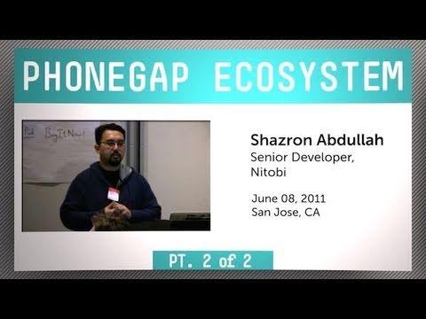 PhoneGap Ecosystem (part 2 of 2) - cross-platform app development in the cloud with PhoneGap Build