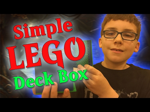 A Simple LEGO Deck Box