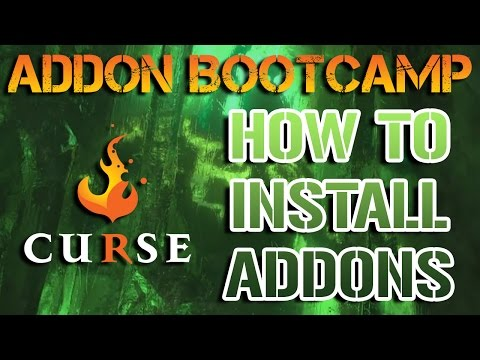 How to Install World of Warcraft Addons with Curse! (OUTDATED: Link in Description)