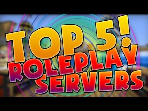 TOP 5 MINECRAFT ROLEPLAY SERVERS!
