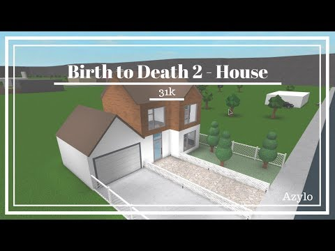 Roblox | Bloxburg: Birth to Death 2 House (31k)