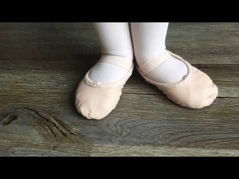 How to prepare your ballet shoes for class