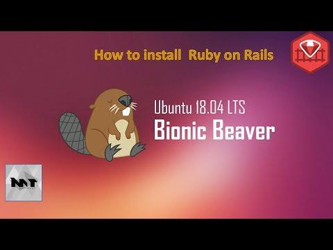 How to Install Ruby on Rails on Ubuntu 18.04