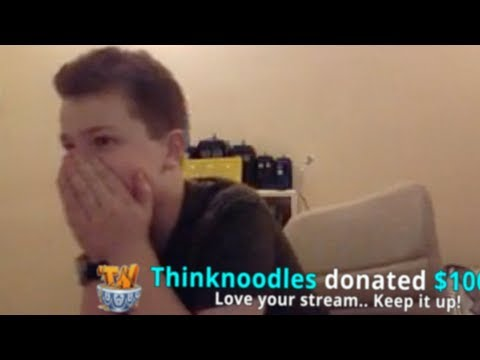 DONATING MONEY TO ROBLOX STREAMERS!!