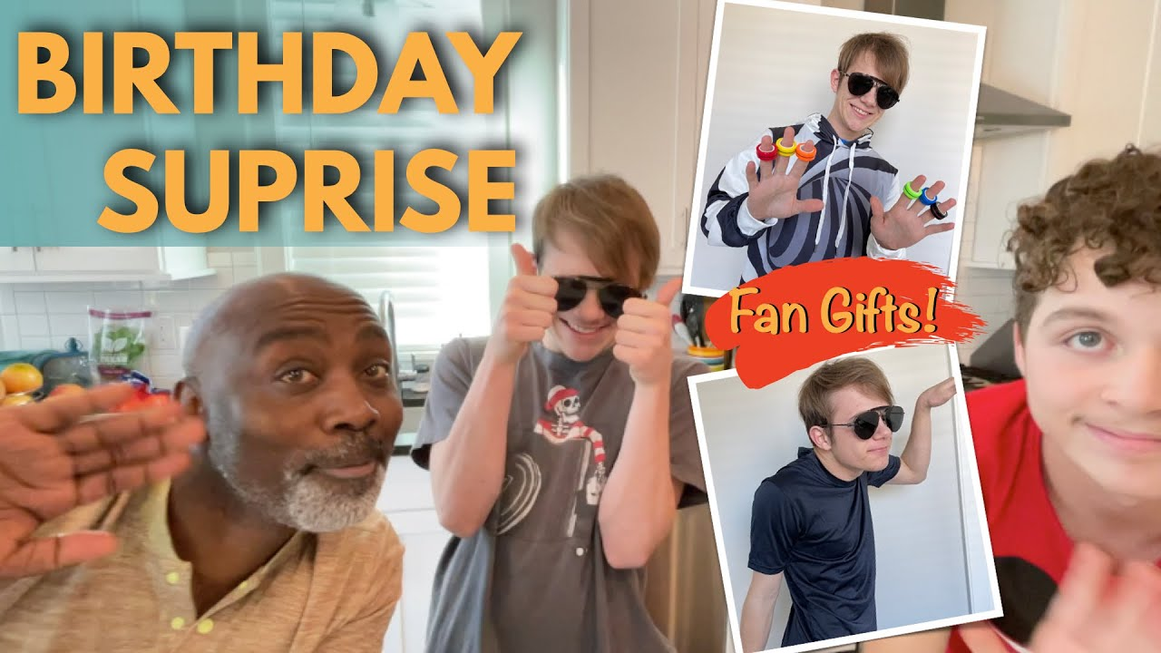 BIRTHDAY SURPRISE | OPENING FAN GIFTS