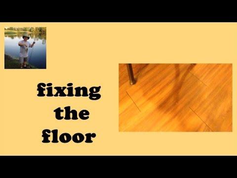 Vinyl Plank Flooring Fix