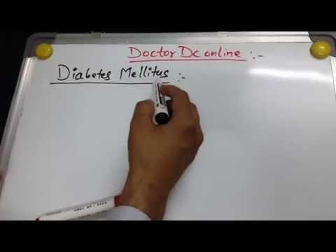Diabetes Mallitus 1of 6 (Type I VS Type II DM)