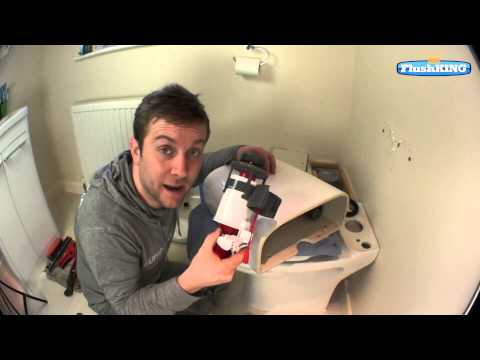 How to Change a Top Fixed Push Button Flush Valve in a Toilet Cistern.