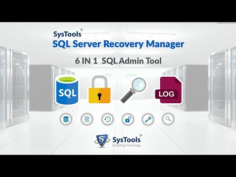 SysTools SQL Server Recovery Manager [Official] Guide