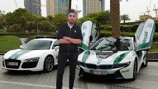 DUBAI POLICE SUPERCARS !!!