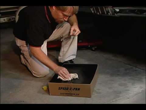 Speed-E-Pan - The Recylable Oil Drain Pan!