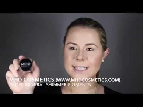 MHD Cosmetics - HD Shimmer Pigments