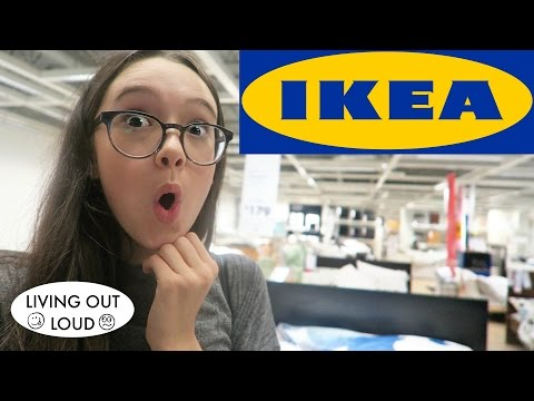 IKEA Furniture Shopping For Fiona's Room + SF Audition | Shopping & Hauls | Living Out Loud