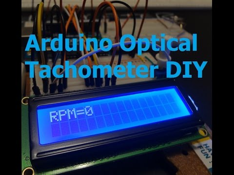 Measure RPM w/ DIY Arduino Optical Tachometer using Infrared LED & Phototransistor