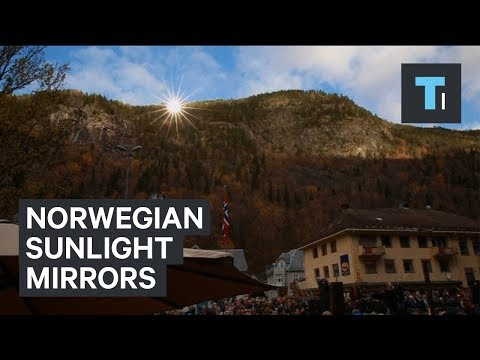 Norwegian Town Uses Mirrors To Make Artificial Sunlight