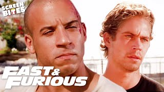 Brian and Dom's Brotherhood | Fast & Furious | SceneScreen