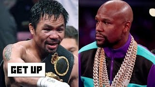 Download Floyd Mayweather and Manny Pacquiao exchange shots on social media | Get Up Video