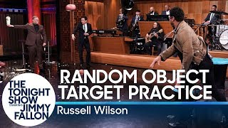 Download Random Object Target Practice with Russell Wilson Video