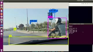 Traffic camera object detection with YOLO VOC #1 - PakVim net HD