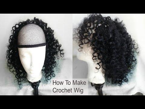 Crochet Wig Tutorial (Beginner Friendly) | How To Make A Crochet Hair | GoldQueen Queency