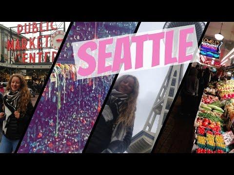 SEATTLE ✈️ | ''Deutscher'' WEIHNACHTSMARKT 🎄🎅🏼 - Aupair VLOG #9  (with English Subtitles)