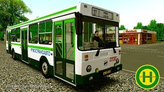 OMSI 2 • Shchelkovo (line 1) • LiAZ 5293 53 - PakVim net HD Vdieos