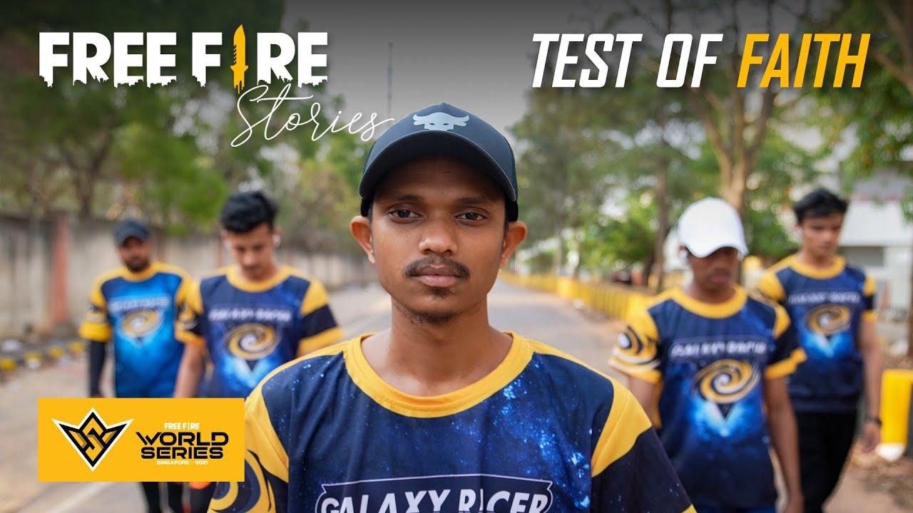 Free Fire Stories | Test Of Faith ft. Galaxy Racer, @vasiyocrj7 | FFWS 2021 Special