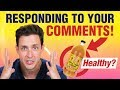 Apple Cider Vinegar Benefits  Responding To Your Comments  Doctor Mike mp3