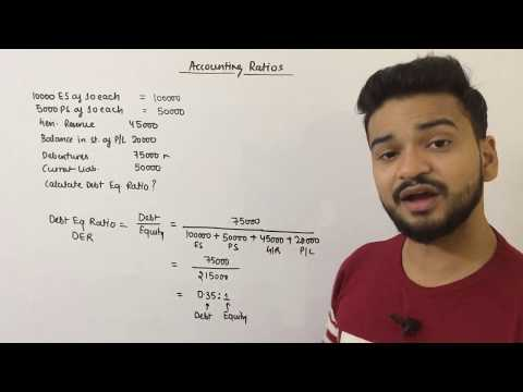 ACCOUNTING RATIOS PART - 3 || SOLVENCY RATIO - DEBT EQUITY RATIO & TOTAL ASSET TO DEBT RATIO