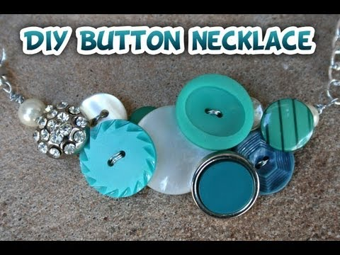 Button Necklace How to - Whitney Sews