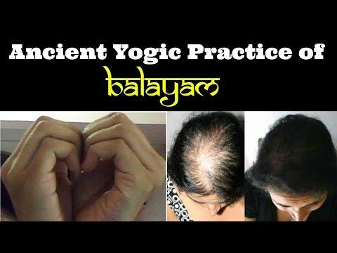 Balayam - A cure for baldness | How to do the Prasanna mudra