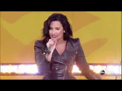 Demi Lovato - Neon Lights (Live at GMA Summer Concert Series)
