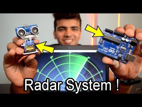 [HINDI] How To Make A Radar Using Arduino And Ultrasonic Sensor Easily At Home | Arduino Project