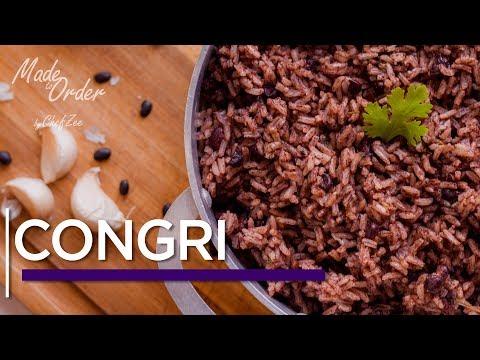 Congri Cubano | Moro Negro | Made To Order | Chef Zee Cooks