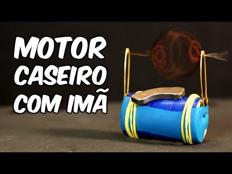 Como fazer um motor elétrico com um imã (experiência de Física)