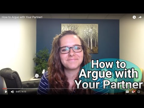 How to Argue with Your Partner!