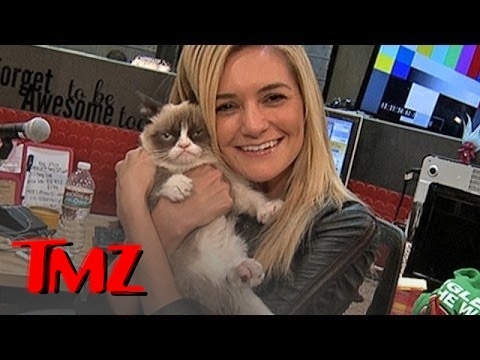 Grumpy Cat Visits TMZ!   TMZ
