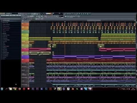 FL Studio 11 - KOAN Sound -ish style - Glitch Hop