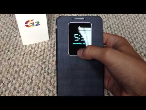Unboxing of LG G2 Window Case