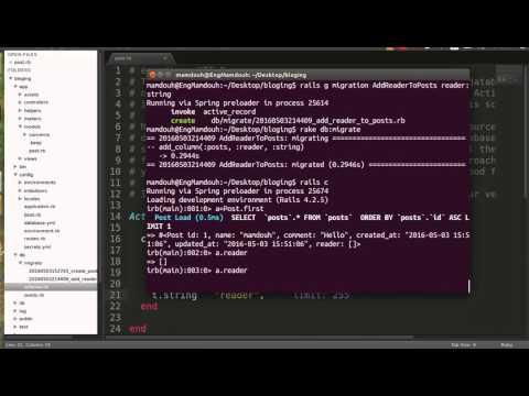 Rails Migration #17 | Adding Column Type Array To Mysql Table