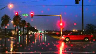 """The Sound of Driving in The Rain 40mins """"Sleep Sounds"""" ASMR"""