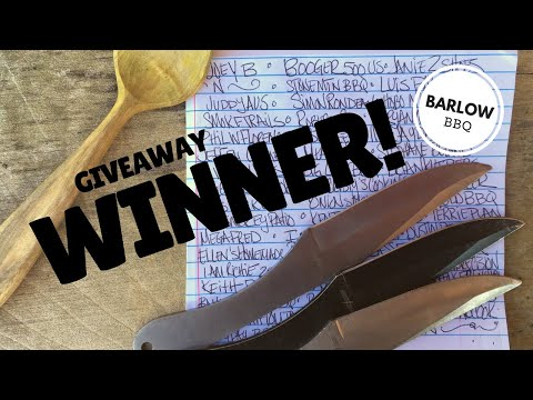 Giveaway WINNER! - Handcarved Spoon from Greenwood Forest Craft