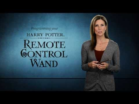 Noble Collection's Harry Potter Remote Control Wand - Programming Video