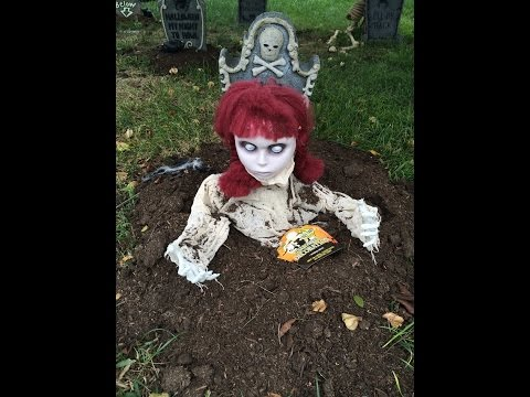 Our Halloween 2016 Outdoor Decorations Tour!!!