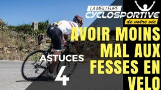 4 astuces pour avoir moins mal aux fesses en vélo