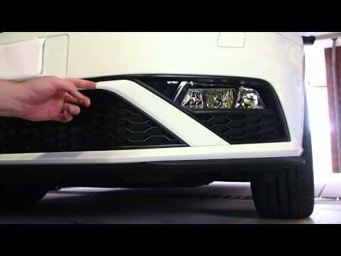 VW Polo 6C GTI: How to Change the Fog Light Bulb