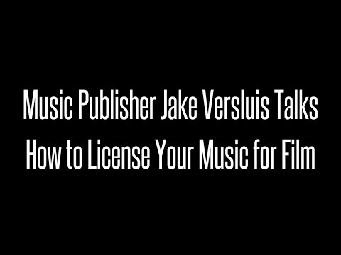 How Can an Indie Artist License Their Music For Film or TV